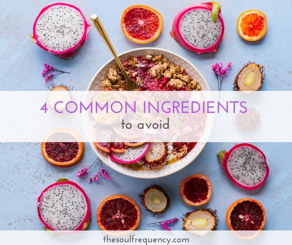 common ingredients to avoid