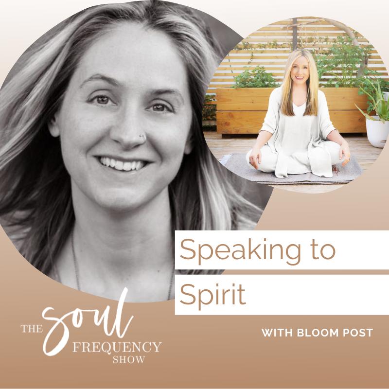 speaking to spirit