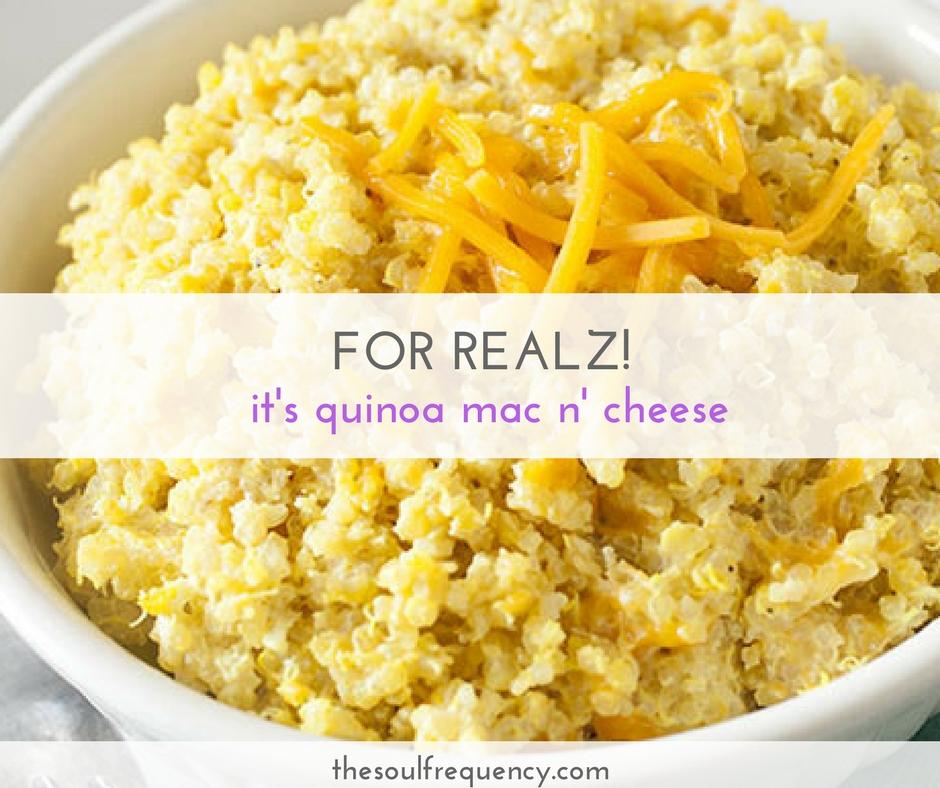 quinoa mac and cheese recipe
