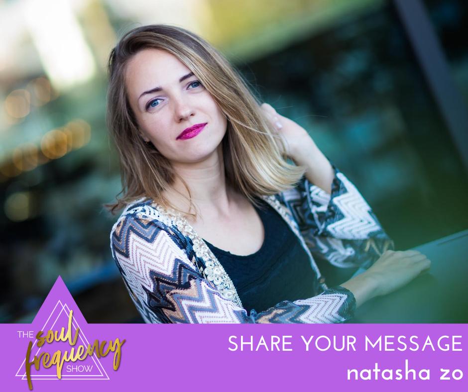 natascha zo share your message